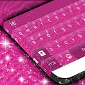 Pink Zebra Keyboard Theme icon