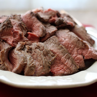 Perfectly Simple and Sliceable CrockPot Roast Beef.