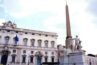 Photo: #024-Castor et Pollux sur la Piazza del Quirinale.