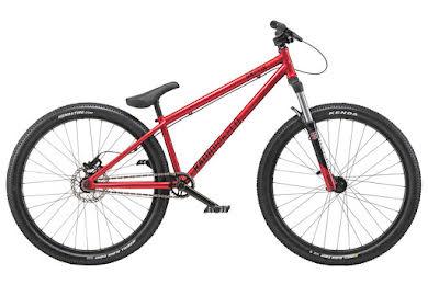 "Radio 2019Griffin 26"" Complete Dirt Jump Bike 22.6"" Top Tube Metallic Red"