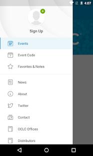 OCLC Events Ekran Görüntüsü
