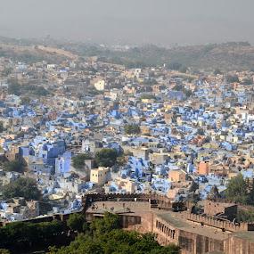 The Blue City- JODHPUR by Akshay Padhye - Landscapes Travel