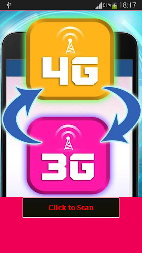 Signal Booster 3G to 4G Prank