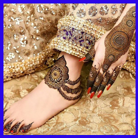 Foot Feet Mehndi Designs 2019 (Offline)