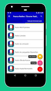 Radio FM France - Radio Francaise en Ligne Gratuit - náhled