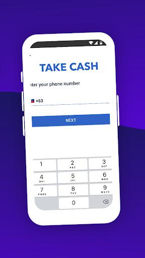 Take cash screenshot 3