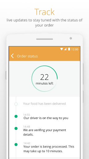 Otlob - Food Delivery 3.6.1 screenshots 5