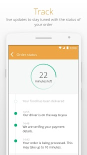 Otlob - Food Delivery – Miniaturansicht des Screenshots