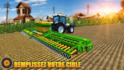 Code Triche Tracteur agricole pilote: village Simulator 2019 apk mod screenshots 3