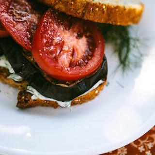 Roasted Eggplant Sandwiches Recipe