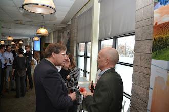 Photo: Mike Swayne (Past President), Rod Potter (ASHRAE Ottawa President)