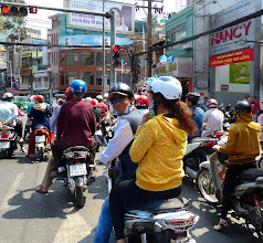 Photo: VIETNAM Ho chi minh ) scooter (Pana)