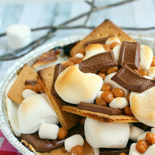 S'Mores Nachos - the Perfect Summer Get-Together Dessert Recipe
