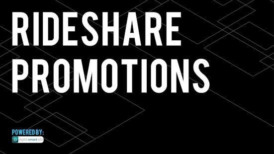 Rideshare Promotions - náhled