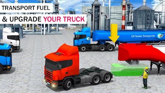 Offroad Oil Tanker Transport Truck Driver 2020 5