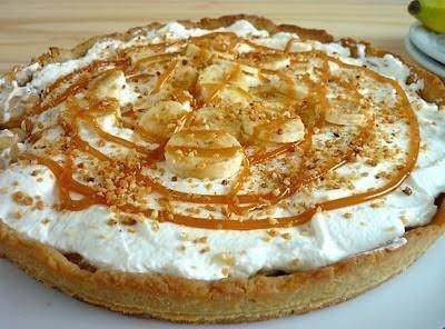 Banoffee Pie - Banana Caramel Tart Recipe