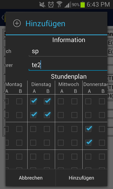 Substitutions Coop Aachen- screenshot