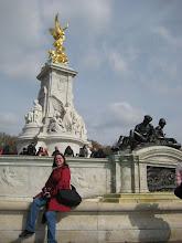 Photo: Shauna at the Victoria Monument