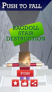 Ragdoll Stair Destruction - náhled