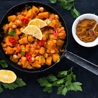 Spiced Chickpea and Squash Stew.