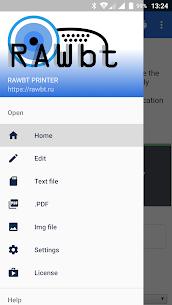 RawBT driver for thermal ESC/POS printer – Android Mod + APK + Data 3