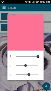 Dolphin List - tareas a color- screenshot thumbnail