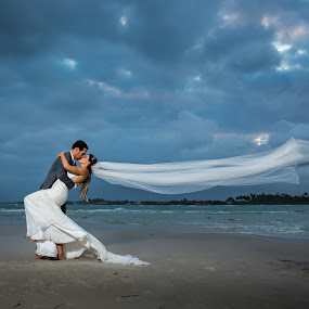 by David Terry - Wedding Bride & Groom