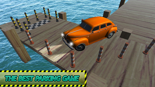 Classic Car Real Parking Game
