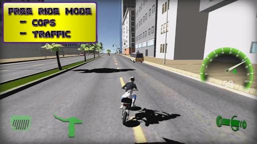 Motorbike real 3D drag racing Wheelie Challenge 3D  screenshots 5