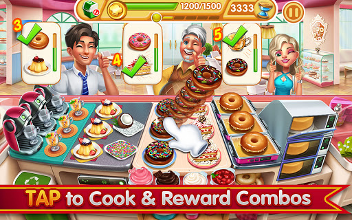 Cooking City: frenzy chef restaurant cooking games 1.82.5017 screenshots 12