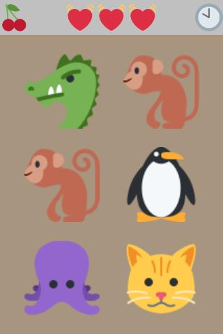 Find the different emoji  screenshots 1