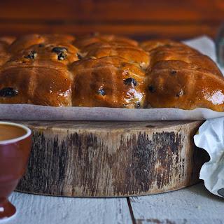 The Softest Bakery Style Hot Cross Buns