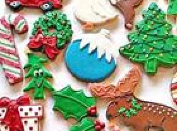 Deluxe Sugar Cookies Recipe