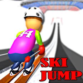 Ski Jump - Winter Games