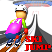 Ski Jump - Winter Games