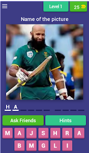 Cricket Player Quiz - náhled