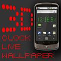 3D Clock Live Wallpaper icon