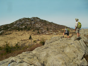 Photo: On the crags of Wilburn Ridge.