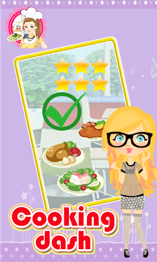 Cooking Dash New Cooking Games