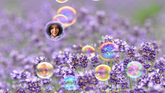 Bubble Photo Frames screenshot