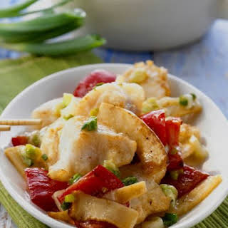 Wok-fried Cod.
