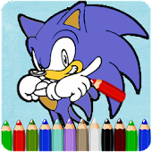 How To Color Sonic Hedgehog