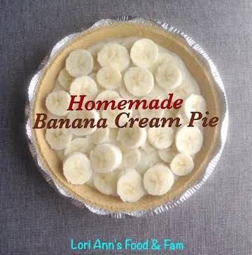 Homemade Banana Cream Pie