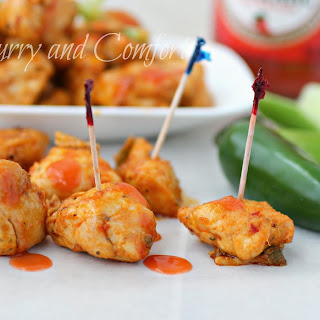 Buffalo Chicken Bites (Low Carb)