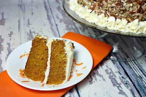 """Best Tasting Carrot Cake """"This recipe was amazing! I made this cake..."""