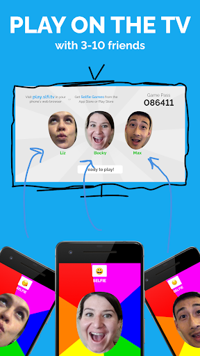 Selfie Games: Group TV Party Game (draw and guess) 1.1.0 screenshots 1