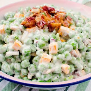 Creamy Bacon Pea Salad.