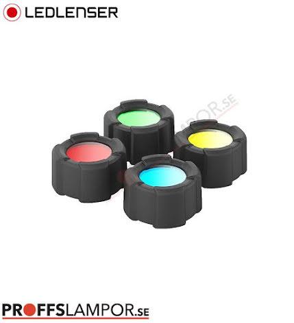 Tillbehör Ledlenser färgfilterset 32,5 mm