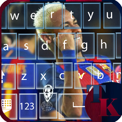 keyboard themes for FCB fans
