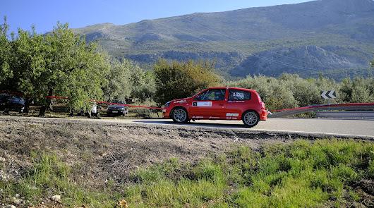 Buen papel de los pilotos almerienses en el Rally Crono Axarquia